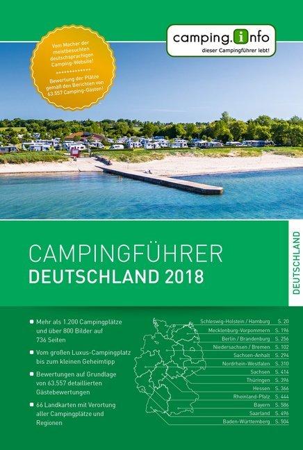 Campingführer Deutschland 2018 als Buch von