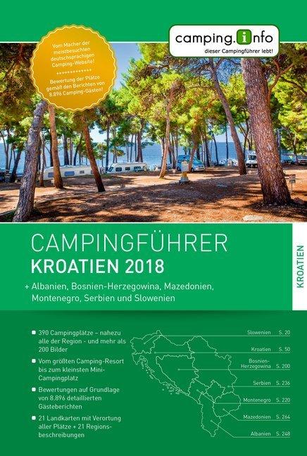 Campingführer Kroatien 2018 als Buch