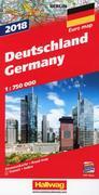 Straßenkarte Deutschland 1:750 000 Ausgabe 2018