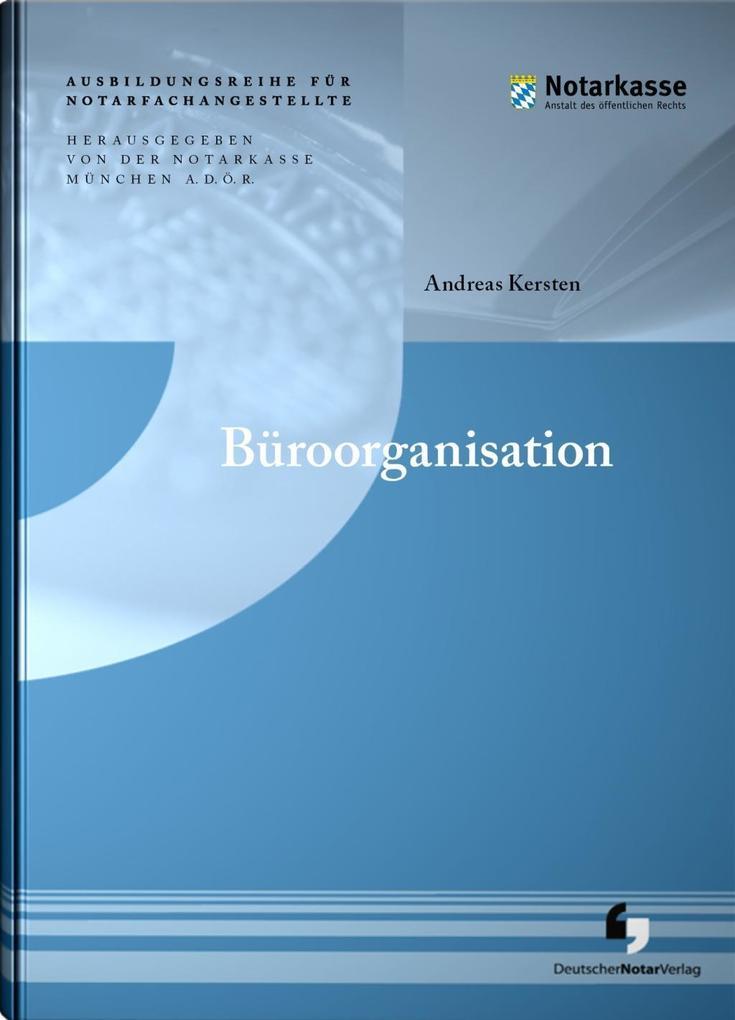 Büroorganisation als Buch