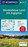 Werdenfelser Land mit Zugspitze 1:25 000
