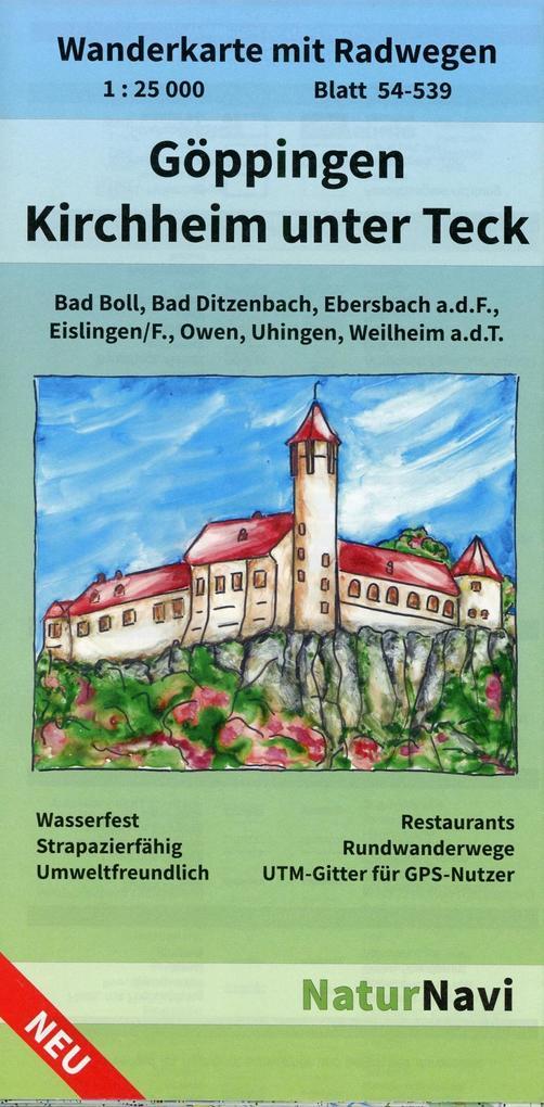 Bad Kirchheim Teck göppingen kirchheim unter teck 1 25 000 blatt 54 539 buch