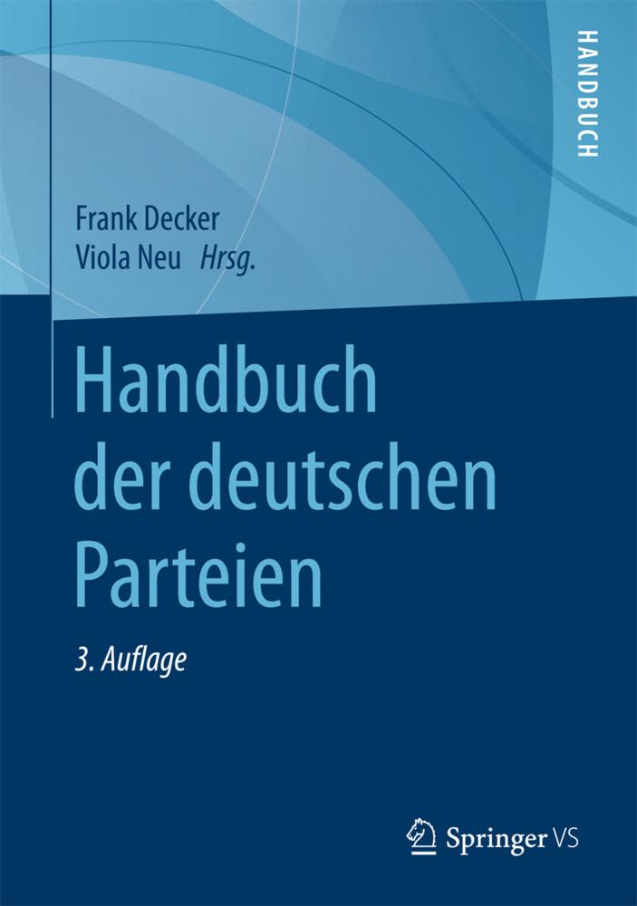 Handbuch der deutschen Parteien als Buch von