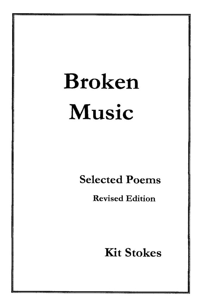 Broken Music als eBook Download von Kit Stokes