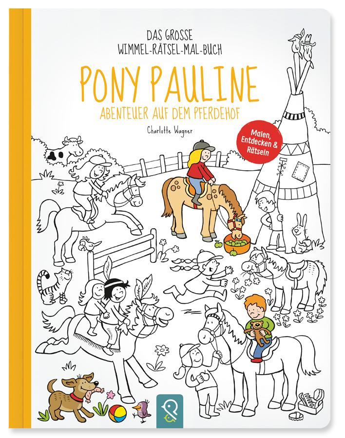 Pony Pauline - Abenteuer auf dem Pferdehof als ...