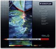 Staedtler - Aquarellstifte karat, wasservermalbar, 24er Blechetui