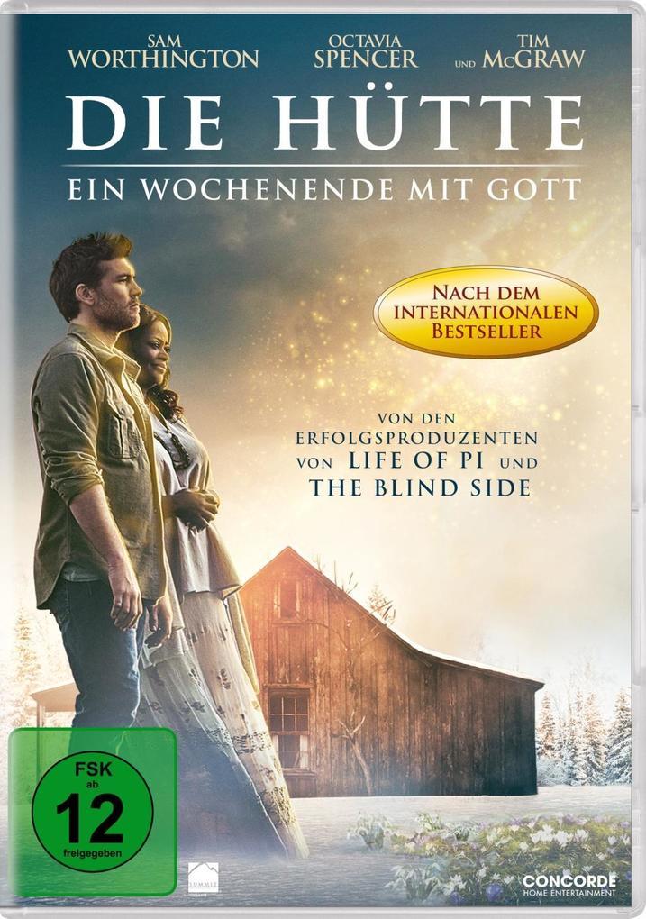 Die Hütte - Ein Wochenende mit Gott als DVD