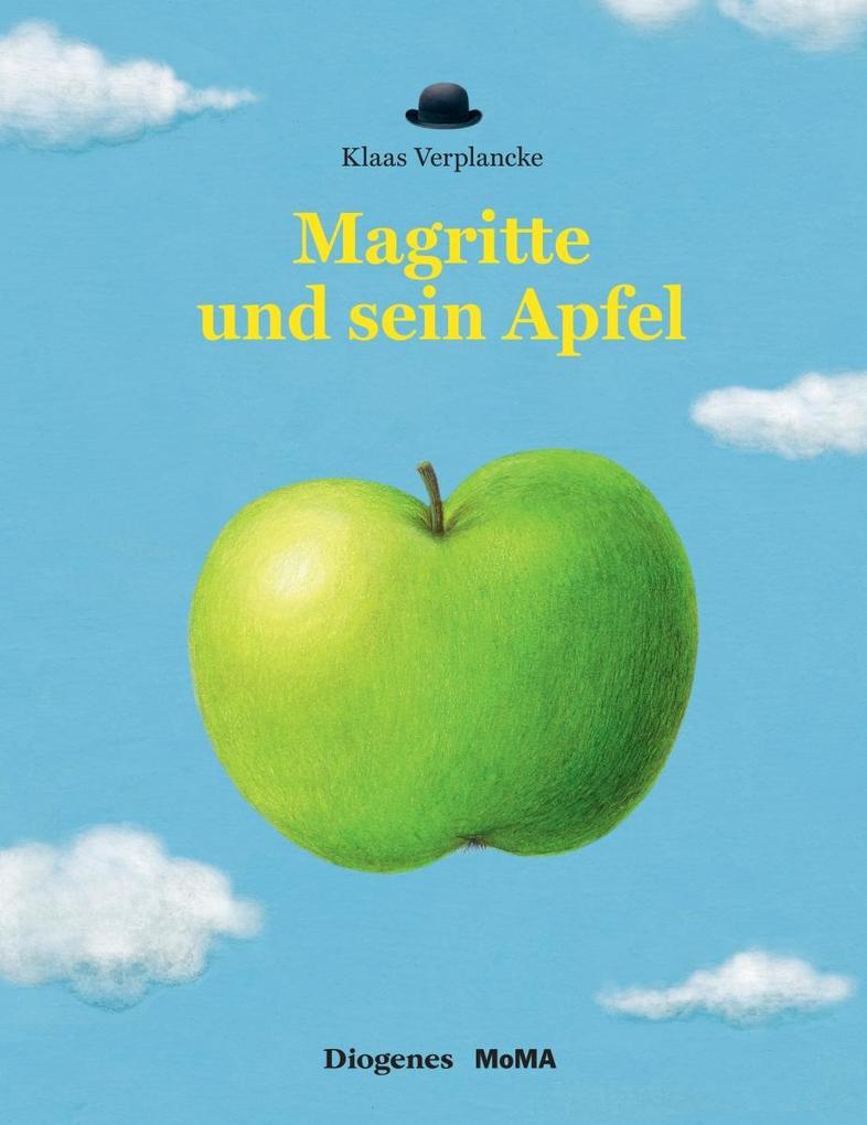 Magritte und sein Apfel als Buch (gebunden)
