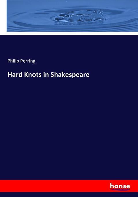 Hard Knots in Shakespeare als Buch (kartoniert)