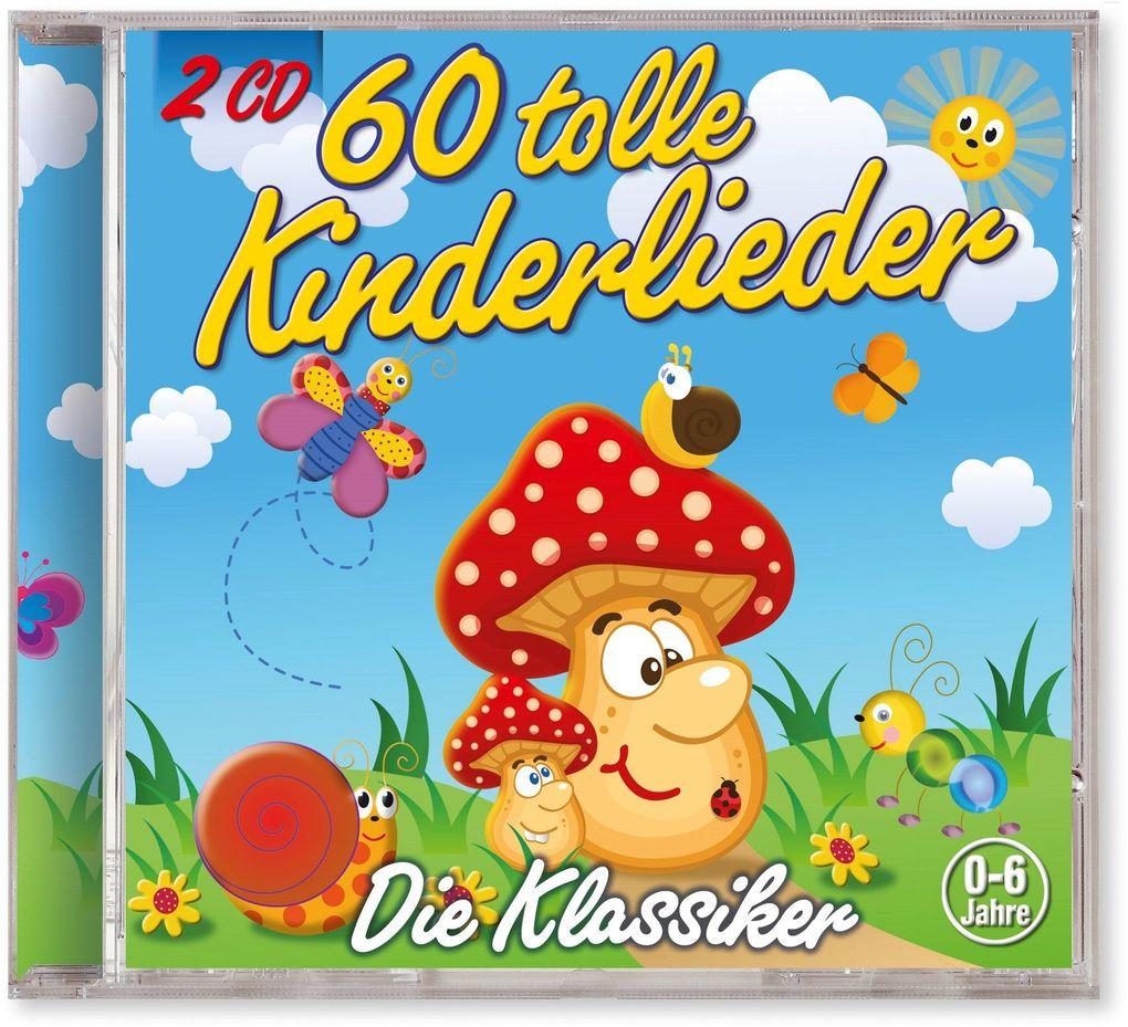60 Tolle Kinderlieder als CD