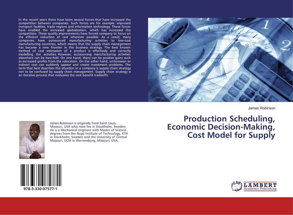 Production Scheduling, Economic Decision-Making...