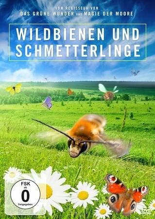 Wildbienen und Schmetterlinge als DVD