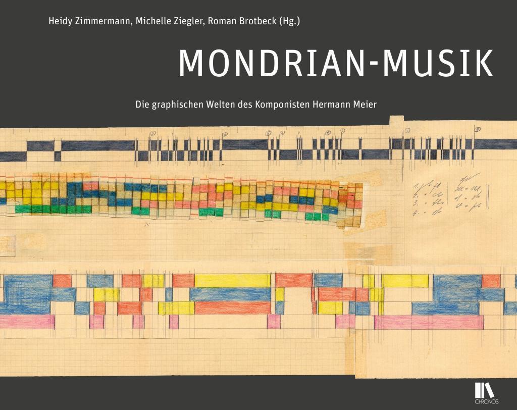Mondrian-Musik als Buch von Heidy Zimmermann, M...