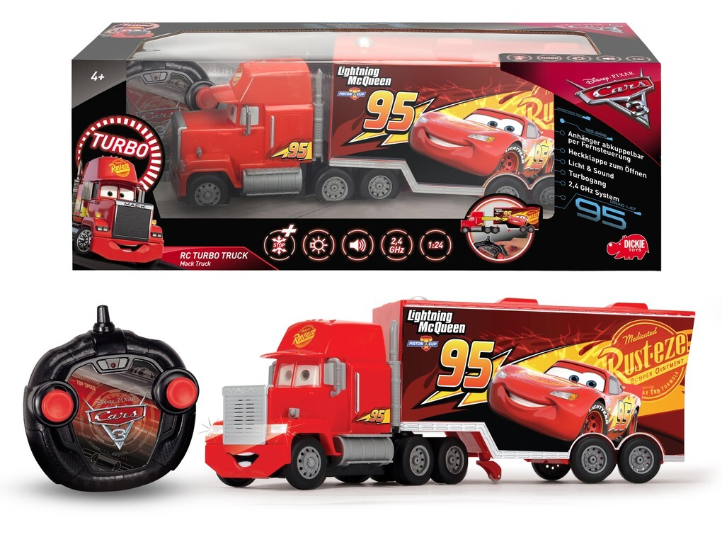 Dickie - Cars 3 - RC Turbo Mack Truck