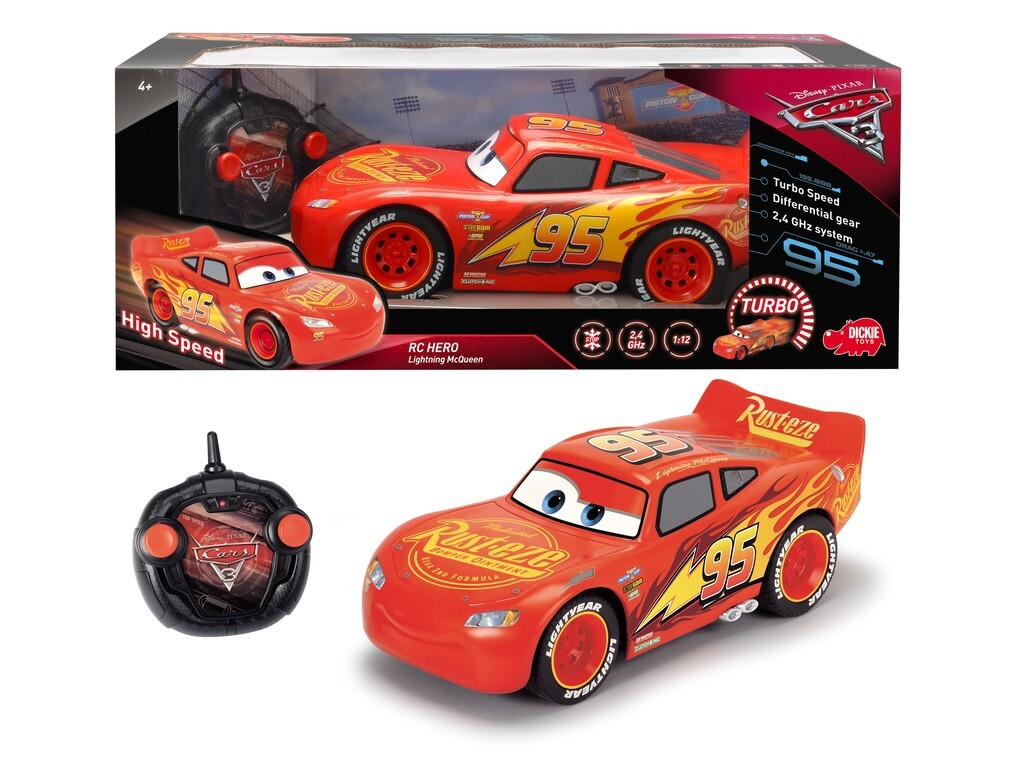 Dickie - Cars 3 - RC Hero Lightning McQueen
