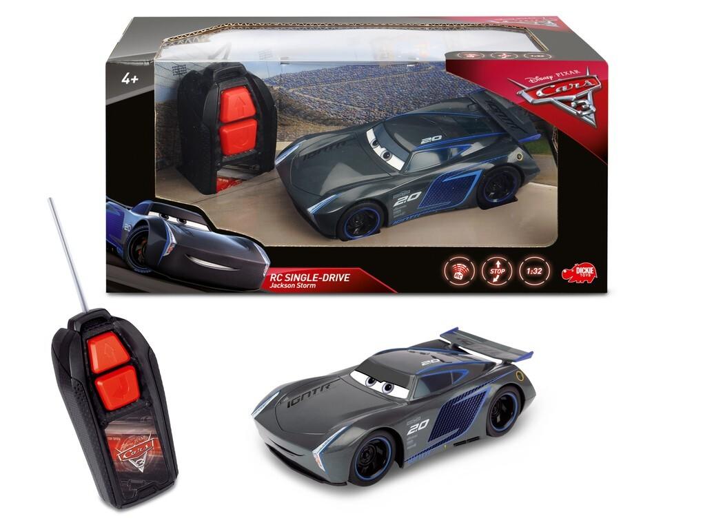 Dickie - Cars 3 - RC Cars 3 Jackson Storm Singl...