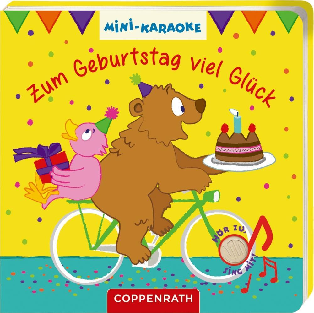 Mini-Karaoke: Zum Geburtstag viel Glück als Buch