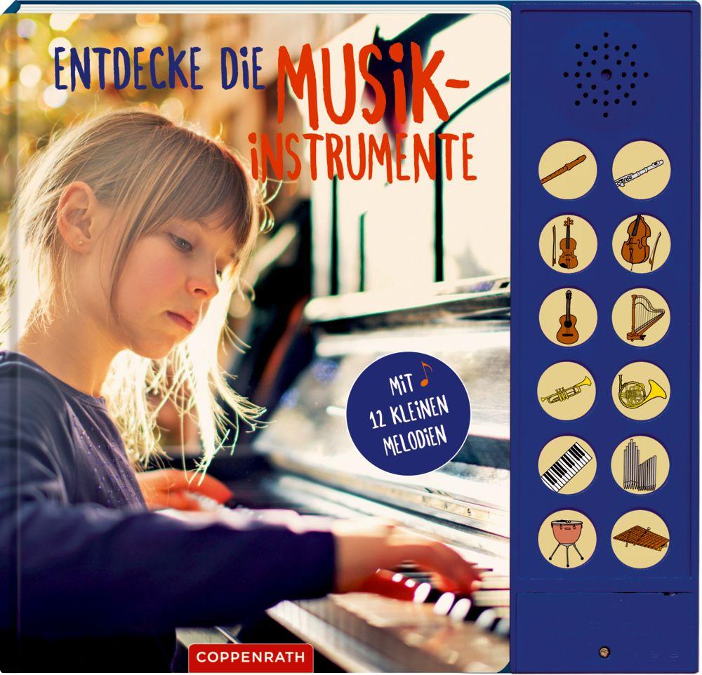 Entdecke die Musikinstrumente als Buch