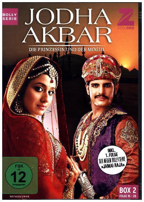 Jodha Akbar - Die Prinzessin und der Mogul (Box 2) (Folge 15-28) als DVD