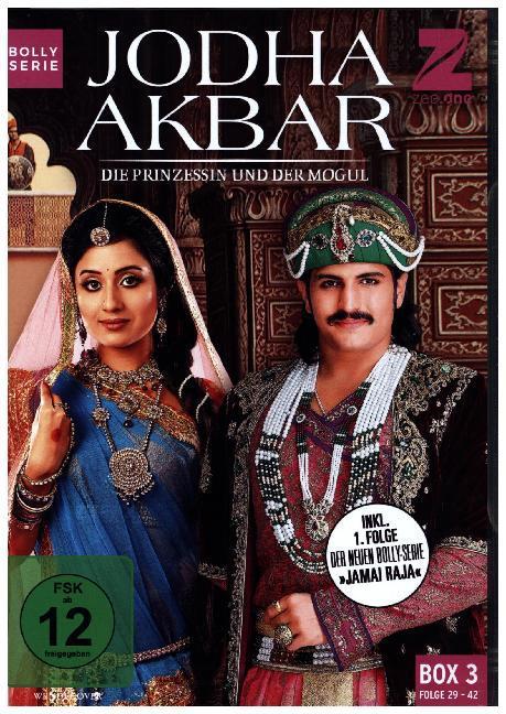 Jodha Akbar - Die Prinzessin und der Mogul (Box 3) (Folge 29-42) als DVD