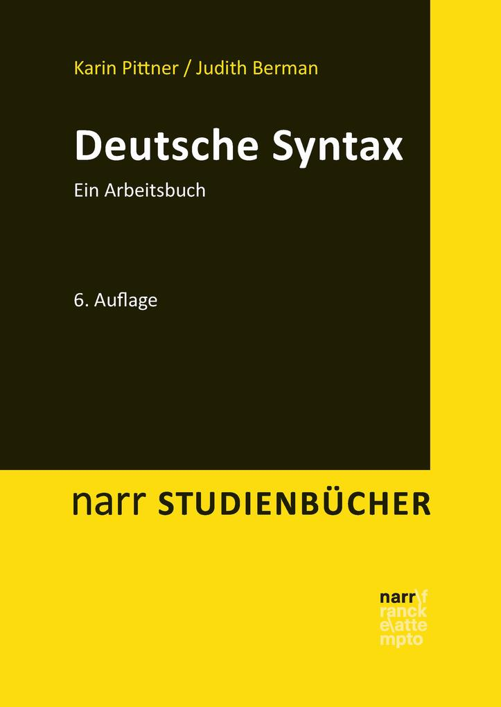 Deutsche Syntax als eBook