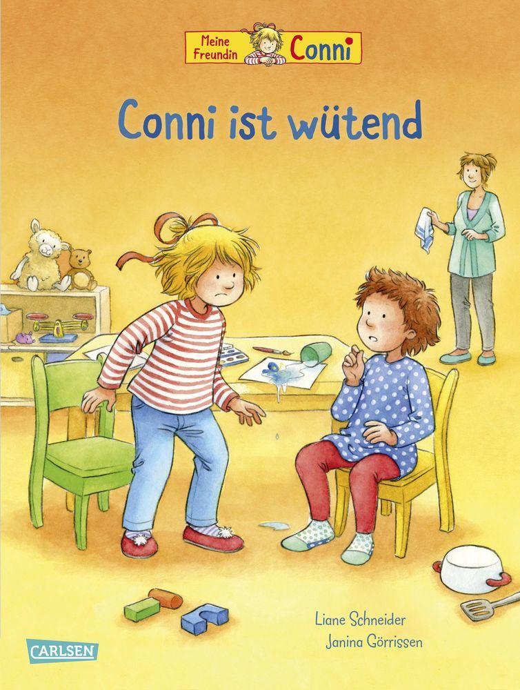 Conni-Bilderbücher: Conni ist wütend als Buch