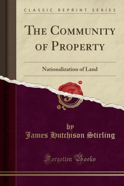 The Community of Property als Taschenbuch von J...