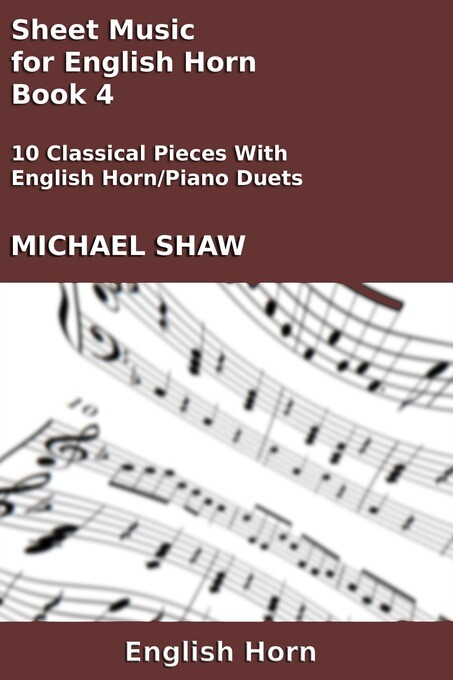 Sheet Music for English Horn: Book 4 als eBook ...