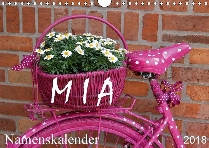 MIA - Namenskalender (Wandkalender 2018 DIN A4 ...
