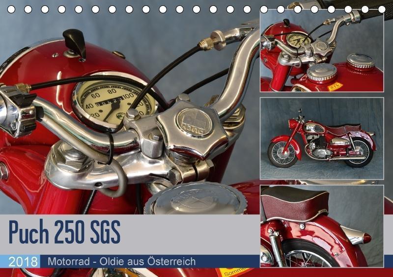 Puch 250 SGS Motorrad - Oldie aus Österreich (T...
