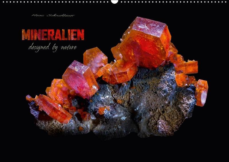MINERALIEN designed by nature (Wandkalender 201...