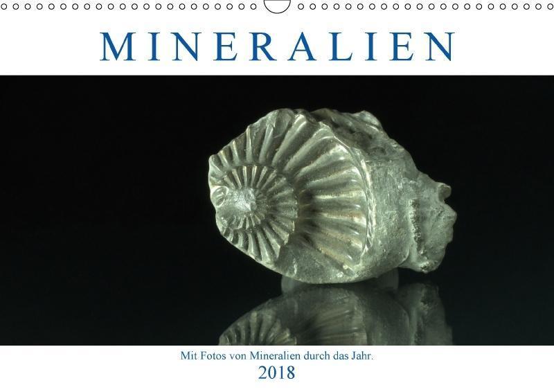 Mineralien (Wandkalender 2018 DIN A3 quer) Dies...