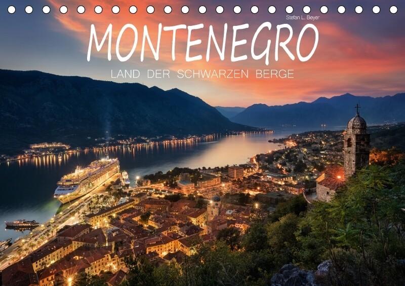 Montenegro - Land der schwarzen Berge (Tischkal...