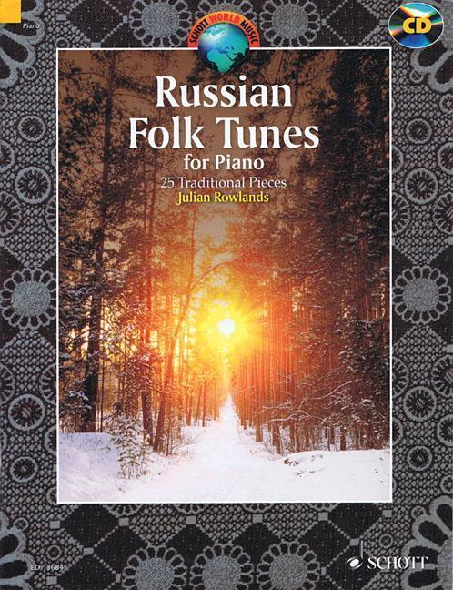 Russian Folk Tunes for Piano als Buch