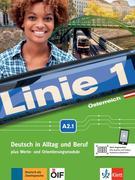 Linie 1 Österreich A2.1. Kurs- und Übungsbuch mit DVD-ROM