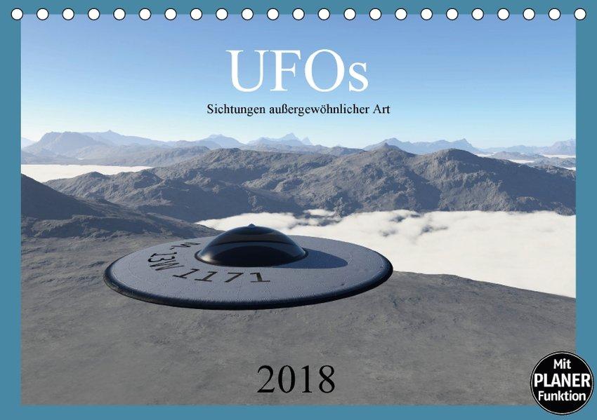 UFOs - Sichtungen außergewöhnlicher Art (Tischk...