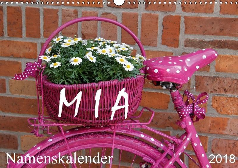 MIA - Namenskalender (Wandkalender 2018 DIN A3 ...