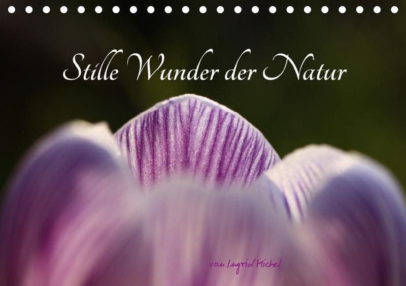 Stille Wunder der Natur (Tischkalender 2018 DIN...