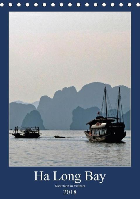 Ha Long Bay, Kreuzfahrt in Vietnam (Tischkalend...