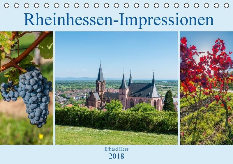 Rheinhessen-Impressionen (Tischkalender 2018 DI...