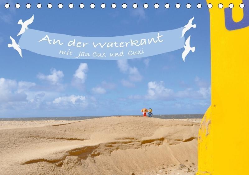 An der Waterkant mit Jan Cux und Cuxi (Tischkal...