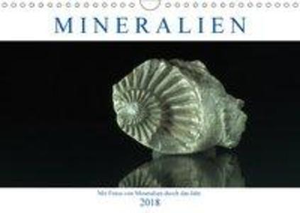 Mineralien (Wandkalender 2018 DIN A4 quer) Dies...