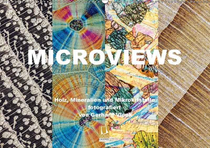 Microviews - Holz, Mineralien und Mikrokristall...