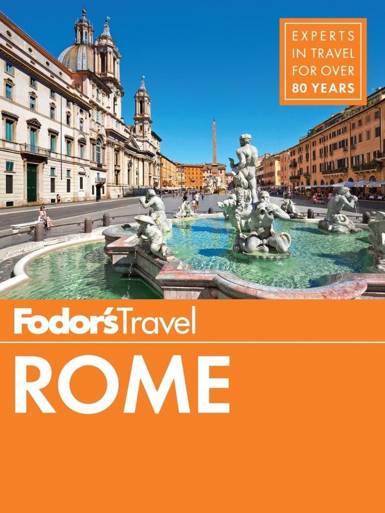 Fodor´s Rome als eBook Download von Fodor´S Tra...