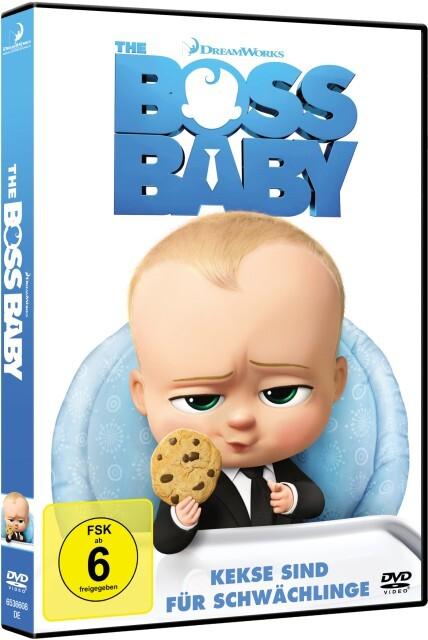 The Boss Baby als DVD
