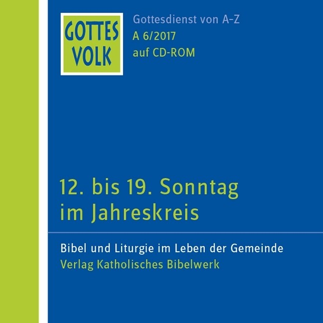 Gottes Volk LJ A6/2017 CD-ROM