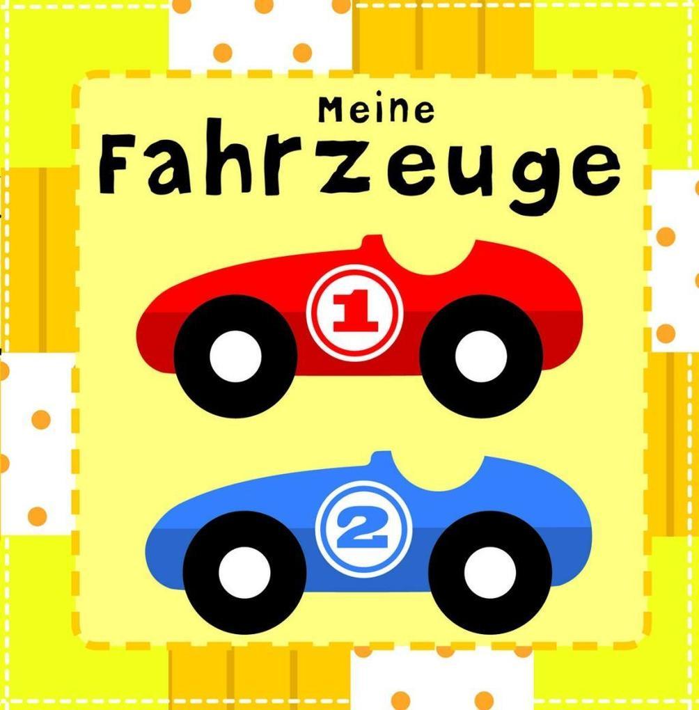 Stoffbuch 'Meine Fahrzeuge'