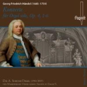 Konzerte für Orgel solo