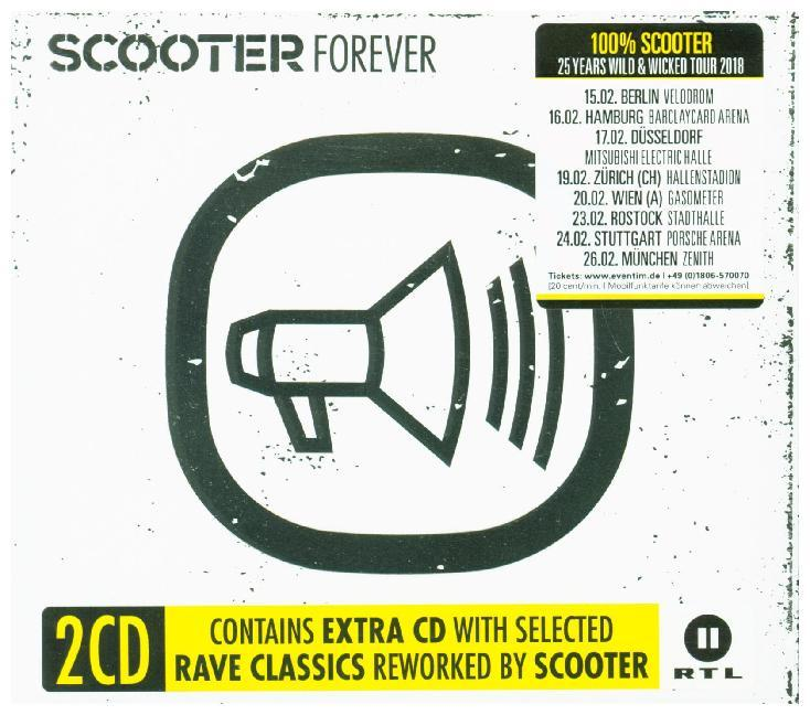 Scooter Forever als CD