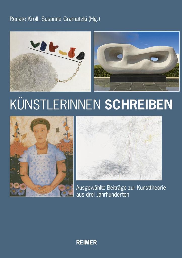 Künstlerinnen schreiben als Buch von